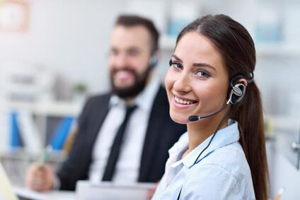 Kontakt per Telefon und E-Mail