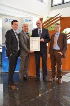 Kreiswerke Main-Kinzig erfolgreich zur ISO IEC 27001 2008 Zertifizierung geführt