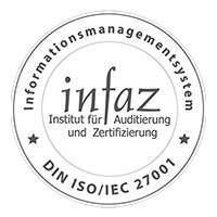 infaz Siegel ISO/IEC 27001
