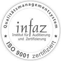 infaz Siegel ISO 9001